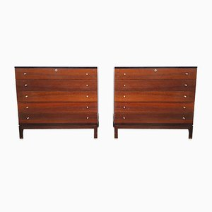 Rosewood Chest of Drawers by Ico & Luisa Parisi for MIM, 1960s, Set of 2