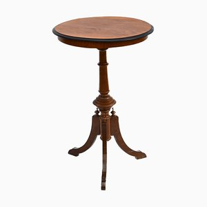 Antique Swedish Victorian Style Pedestal Table