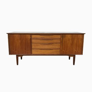 Small Scandinavian Teak Sideboard, 1960s