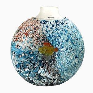 Große Reef Vase von Kjell Engman für Kosta Boda, 2002
