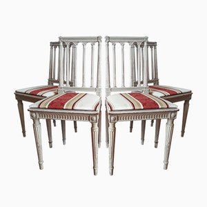 Chaises Style Louis XVI, 1980s, Set de 4