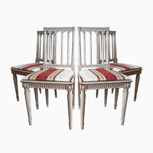 Stühle im Louis XVI-Stil, 1980er, 4er Set