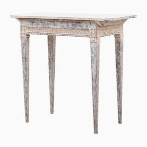 Antique Gustavian Swedish Oak Side Table