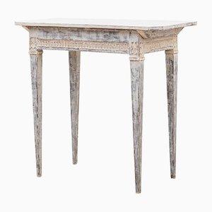 Table d'Appoint Gustavienne Antique en Chêne, Suède