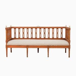 Antikes gustavianisches Sofa