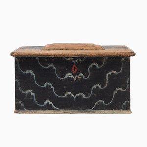 Antike schwedische Kiste
