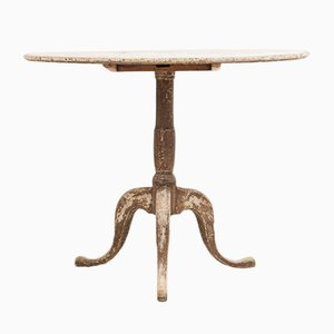 Antique Swedish Gustavian Tilt-Top Table