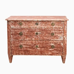 Antique Swedish Gustavian Chest of Drawers