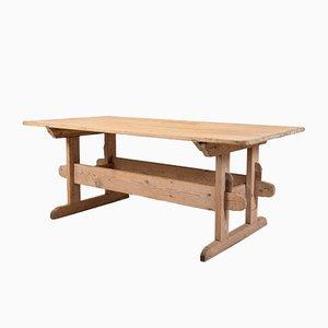 Table à Tréteaux Antique, Suède