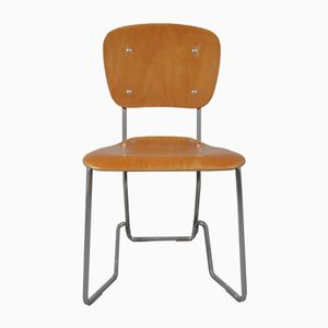 Aluflex Folding Chairs by Armin Wirth, 1950s, Set of 4