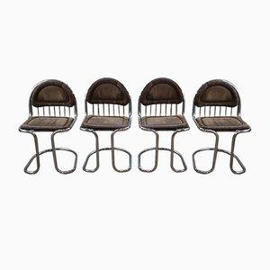 Vintage Stühle von Gastone Rinaldi, 4er Set