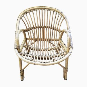 Vintage Rattan Childs Chair
