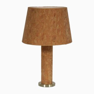 Cork Table Lamp by Ingo Maurer, 1970s