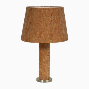 Lámpara de mesa de corcho de Ingo Maurer, años 70