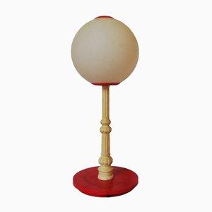 Vintage Plastic Italian Table Lamp, 1970s