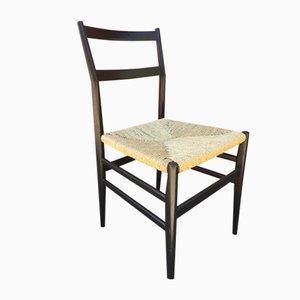 Leggera Stuhl mit Seilgeflecht von Gio Pointi für Cassina, 1950er