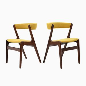 Teak Dining Chairs by Kai Kristiansen, 1960s, Set of 6