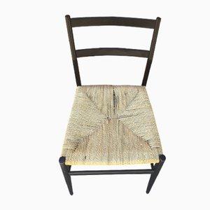 Modell Leggera Stuhl mit Seilgeflecht von Gio Ponti für Cassina, 1952