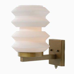 Lámpara de pared holandesa escultural de Raak, años 50
