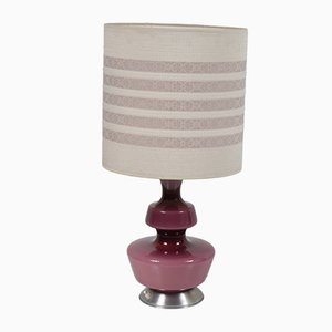 Danish Glass Table Lamp by Dirk van Sliedregt, 1950s