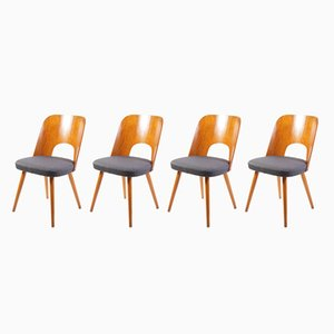 No. 515 Dining Chairs by Oswald Haerdtl for TON, 1960s, Set of 4