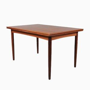 Ausziehbarer Esstisch aus Teak von N & R Mobler, 1950er