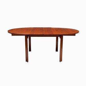 Tavolo da pranzo Mid-Century in teak di Inger Klingenberg per France & Son, Danimarca
