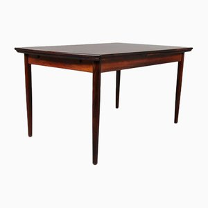 Ausziehbarer Esstisch aus Palisander, 1950er