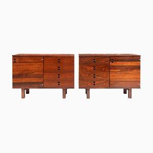 Sideboards aus brasilianischem Palisander von Jorge Zalszupin für L'Atelier, 1960er, 2er Set