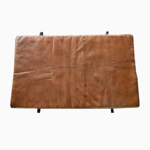 Vintage Leather Gymnastics Mat