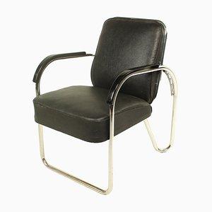 Bauhaus Sessel mit Stahlrohrgestell, 1930er