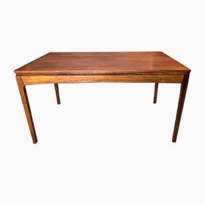 Mesa de comedor danesa de palisandro, años 50
