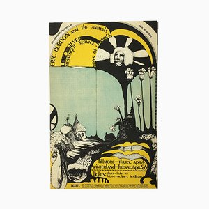 Litografía American Concert de Dana W. Johnson para Tea Lautrec, 1968