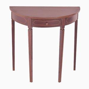 Tavolino a mezzaluna anni '40