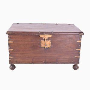 Antique Sucupira Trunk