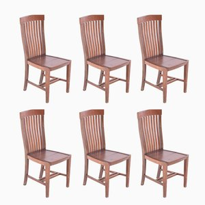 Portuguese Dining Chairs from Olaio, 1950s, Set of 6