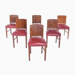 Chaises de Salle à Manger, 1940s, Set de 8