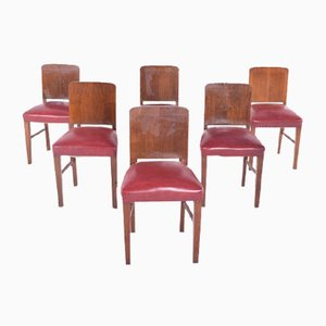 Dining Chairs, 1940s, Set of 8