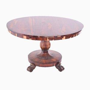 Table de Salle à Manger Antique en Palissandre