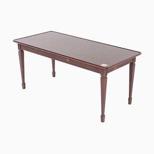 Table Basse Antique en Acajou