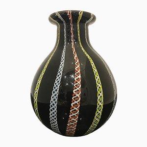 Italienische Vase aus Muranoglas, 1970er