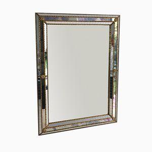 Miroir Rectangulaire à Facettes Multiples, 1970s