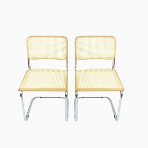 Vintage Italian Chairs, 1970s, Set of 4