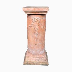 Columnas de terracota, años 60. Juego de 2