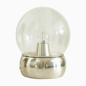 Lámpara de mesa Vieste de aluminio y vidrio de Gianemilio Piero & Anna Monti para Candle, años 70