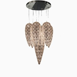 Steel & Crystals Lightfall Arabesque Chandelier from VGnewtrend