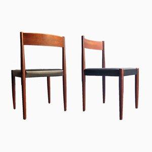 Dänische Esszimmerstühle aus Teak, 1960er, 8er Set