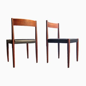 Danish Teak Dining Chairs, 1960s, Set of 8