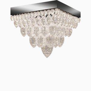 Lámpara de araña Tutankhamun de acero y cristal de Arabesque de VGnewtrend