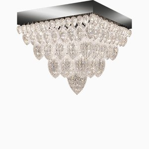 Steel & Crystal Tutankhamun Arabesque Chandelier from VGnewtrend